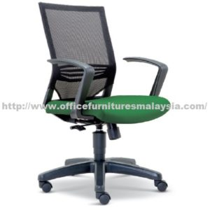 Executive Mesh Lowback Chair OFME2613H office furniture online shop malaysia selangor seri kembangan rawang ampang