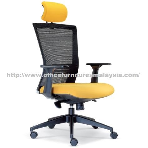 Luxury mesh executive highback modern style contemporary for Cheap modern furniture kuala lumpur