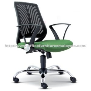 Mesh Manager LowBack Chair OFME2621H office furniture online shop malaysia selangor klang bangi puchong Mont Kiara batu cave sunway