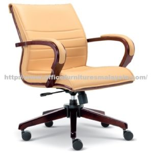 Presidential Lowback Chair Wooden Line OFM2633H office furniture online shop malaysia selangor seri kembangan rawang ampang