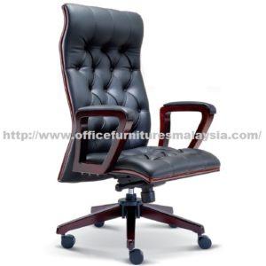 Director Classic Wooden Highback Chair OFME2321H office furniture online shop malaysia selangor klang bangi setia alam USJ Mont Kiara Sungai Besi sunway subang putra