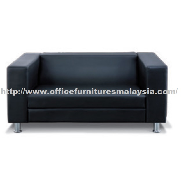 Elegant double seater sofa best price at office furniture for Sofa chair malaysia
