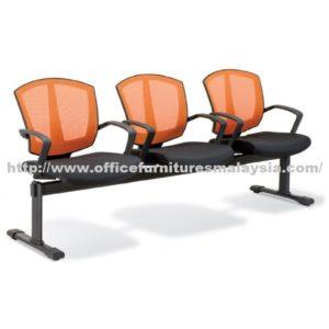 Ergonomic Three Seater Mesh Link Chair OFME2567-3 office furniture online shop malaysia selangor klang bangi setia alam USJ Mont Kiara kajang subang sunway