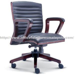 Executive Wooden Lowback Chair OFME2333H office furniture online shop malaysia selangor seri kembangan rawang ampang klang sunway puchong kelana jaya