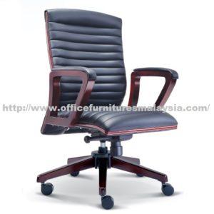 Executive Wooden Mediumback Chair OFME2332H office furniture online shop malaysia selangor seri kembangan rawang ampang klang sunway puchong kelana jaya