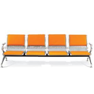 Guest Four Seater Link Chair OFME917 office furniture online shop malaysia selangor bangi kajang sungai besi setia alam kota kemuning sunway balakong