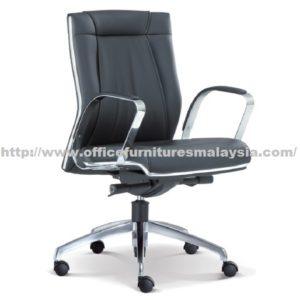 Line Curve Executive Office Lowback Chair OFME1093H office furniture online shop malaysia selangor seri kembangan rawang subang sungai buloh bangsar
