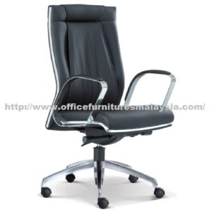 Line Curve Executive Office Medium Chair OFME1092H office furniture online shop malaysia selangor seri kembangan rawang subang sungai buloh bangsar