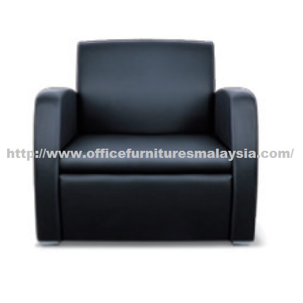 Office visitor single seater sofa best office furniture for Sofa chair malaysia