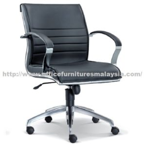 Simple Executive Line Lowback Chair OFME1063H office furniture online shop malaysia selangor sunway damansara usj mont kiara kepong batu caves selayang sungai buloh