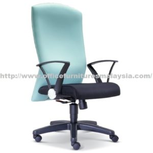Simple Manager Highback Office Chair OFME2591H office furniture online shop malaysia selangor shah alam bangi usj batu cave mont kiara damansara sunway