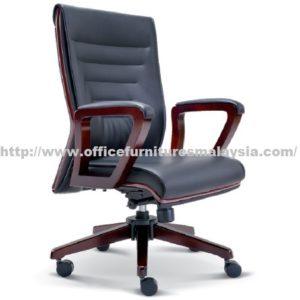 Simple Manager Line Wooden Chair OFME2313H office furniture online shop malaysia selangor klang bangi setia alam USJ Mont Kiara Sungai Besi sunway subang shah alam