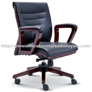 Simple Manager Wooden Chair OFME2314H office furniture online shop malaysia selangor klang bangi setia alam USJ Mont Kiara Sungai Besi sunway subang shah alam