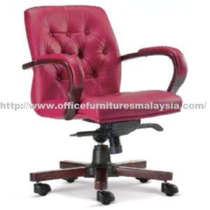 Wooden Executive Lowback Chair OFME1053H office furniture online shop malaysia selangor wangsa maju gombak bangsa putrajaya Cyberjaya bangi kajang sungai besi