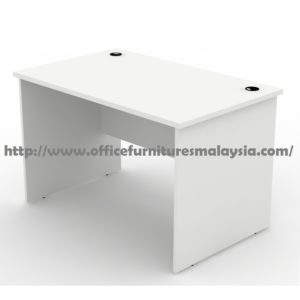 4ft Fully White Office Table Desk OFMRZ1200 cheras puchong setia alam kota kemuning sunway damansara usj