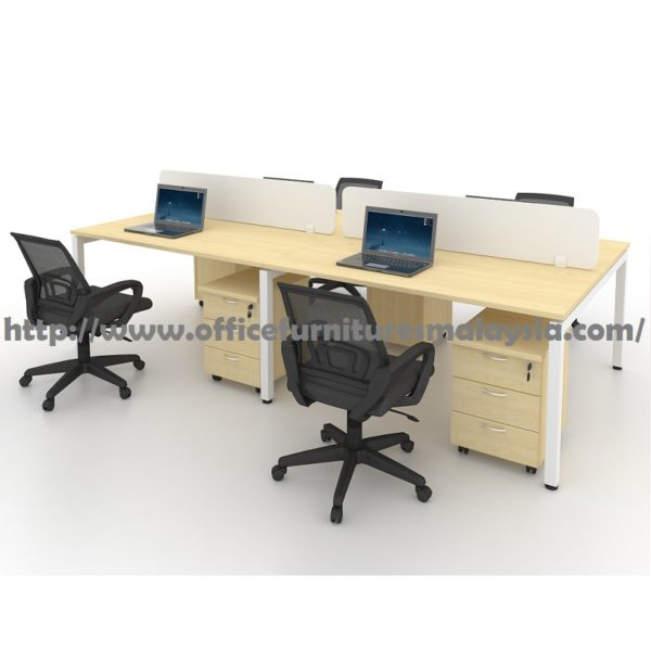 4ft modern office partition workstation 4 table set for 4ft sofa table