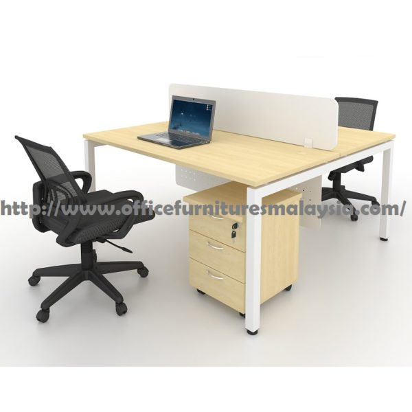 4ft Modern Office Partition Workstation Table OFMN1270 malaysia shah alam bangi putra jaya cyberjaya