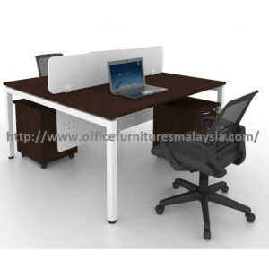 5ft Modern Office Partition Workstation Table OFMN1570 cheras puchong