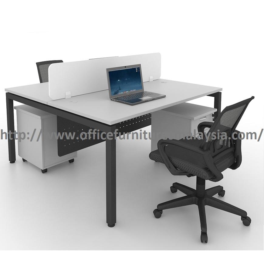 6ft Modern Office Partition Workstation Table OFMN1870 sunway damansara usj mont kiara kepong