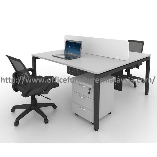 6ft Modern Office Partition Workstation Table OFMN1870 sunway damansara usj mont kiara kepong2