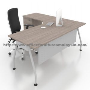 5ft x 4ft Office Manager Table Desk ALO1215 Malaysia klang valley shah alam puchong