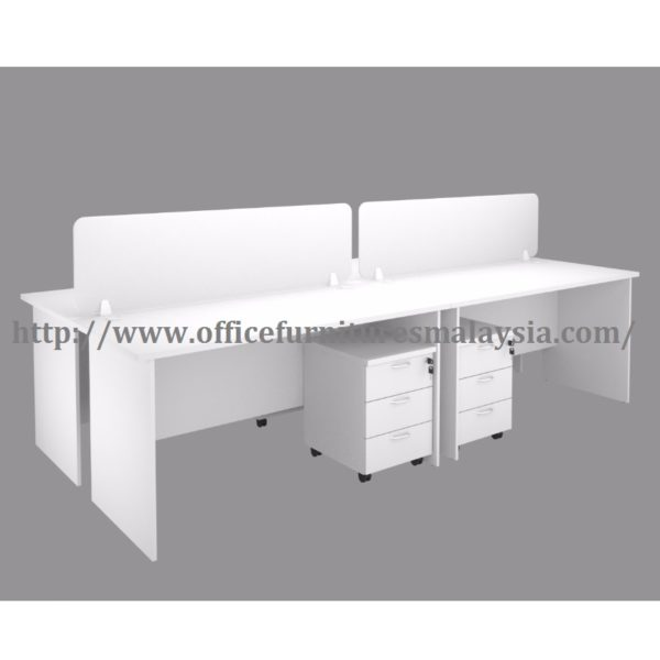 5ft Workstation Partition Design 4 Table malaysia petaling jaya subang usj kuala lumpur1