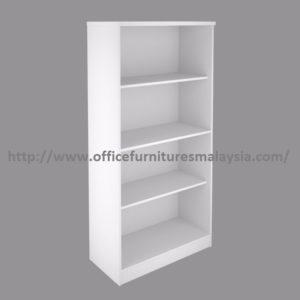 Full White bookcase selangor kuala lumpur serdang rawang setia alam 1