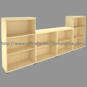Low and medium height open shelf filing cabinet set office cabinet design malaysia sungai buloh Cheras Puchong 1