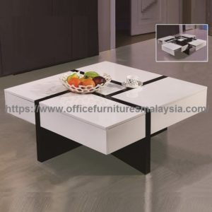 Excellent Coffee Table With Storage meja kopi cantik malaysia Puncak Jalil Shah Alam Ampang1