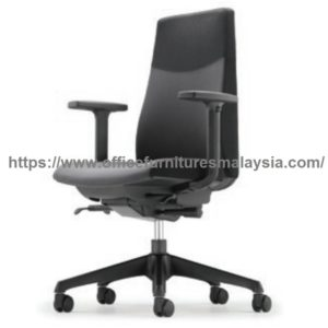 HUGO Executive Manager Low Back Chair promotion sale office chair malaysia Setia Eco Park Setia Alam Ampang1