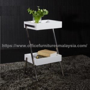 Double Tray Top Square Coffee Table used office coffee table malaysia Kota Kemuning Sungai Buloh Puchong 2a