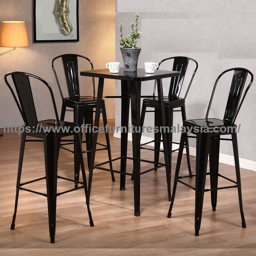 Metal Counter Height Bar Table Set Pub Furniture Oline Malaysia Petaling Jaya Sri Sungai