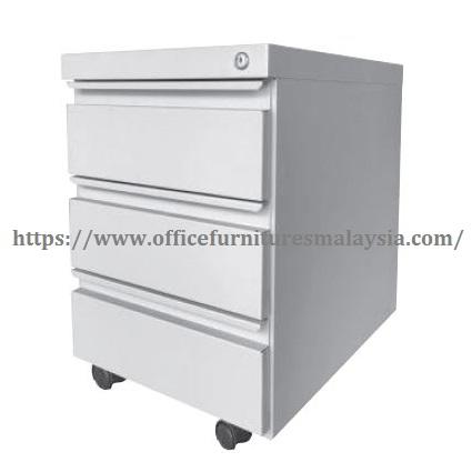 Office Steel Mobile Pedestal 3 Drawer SOFM181 sunway damansara usj mont kiara kepong