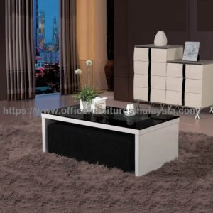 White Coffee Table With Seating Underneath high quality furniture malaysia Kota Kemuning Shah Alam Selayang 1a