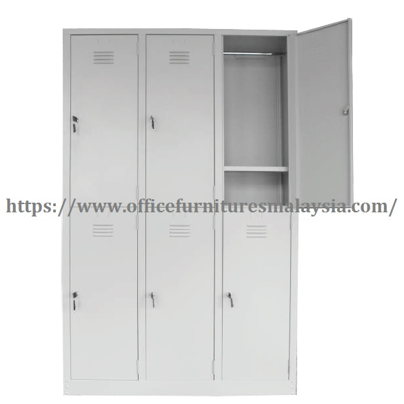2 Compartment Steel Locker steel furnitures supplier malaysia shah alam kuala lumpur damansara1