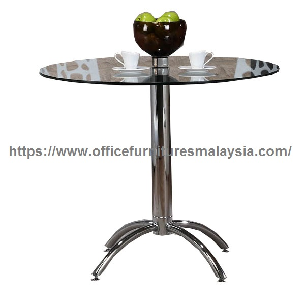 Modern Round Glass Dining Table High Quality Dining Table Malaysia