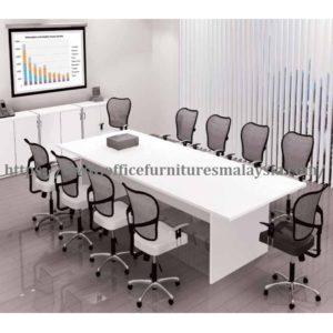 8ft Office White Conference Meeting Room Table Ofme2412 Shah Alam Damansara Petaling Jaya Kuala Lumpur