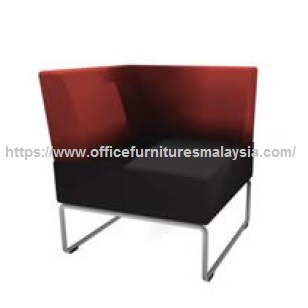 Modern Office Lobby Single Seater Right Backrest Visitor Sofa Hotel Online Malaysia
