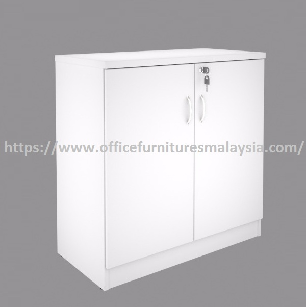 Low Office Storage Filing Cabinet With Sliding Door